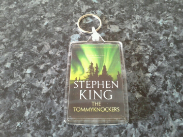 The Tommyknockers Jumbo Keyring. Stephen King Book Art. Horror / Sci Fi